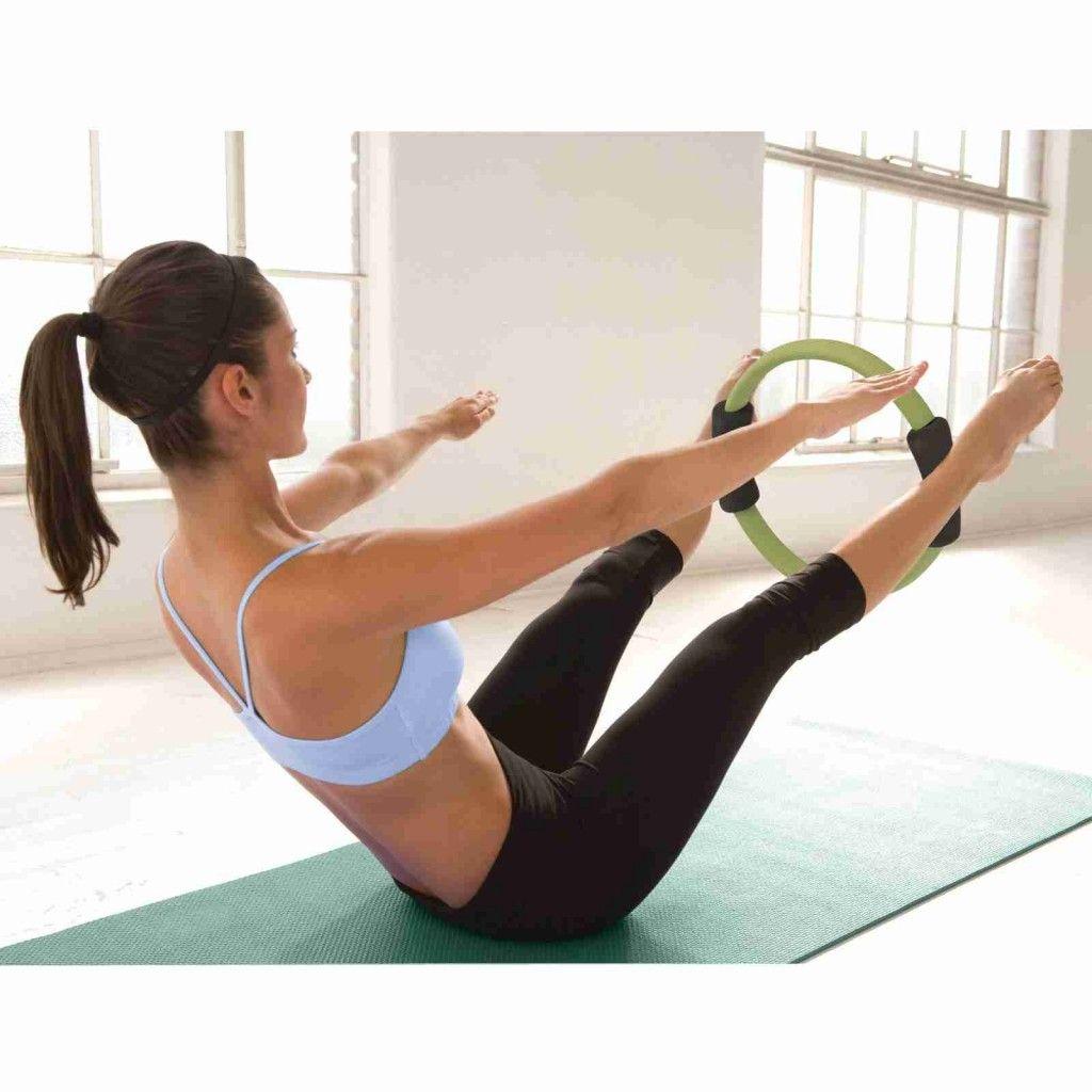 Pilates con aro en casa