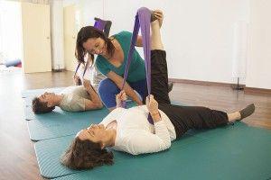 El pilates terapéutico para personas mayores