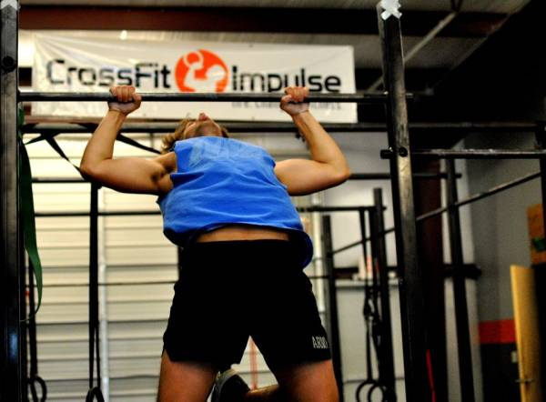 Muscle up en crossfit
