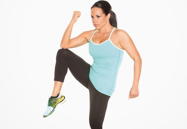 Ejercicios para abdominales de pie