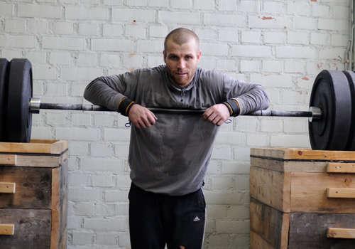 Mikko Salo haciendo Crossfit