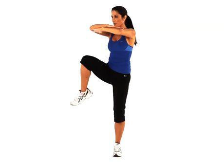 ejercicios para calentar piernas