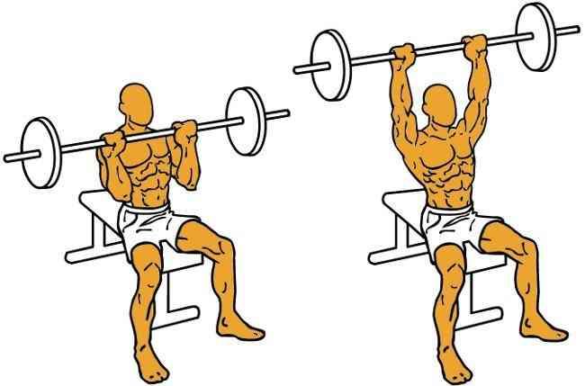 ¿Como se hace el press de hombros?