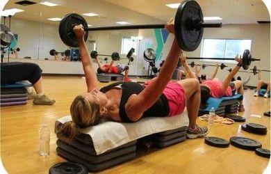 ¿Como se divide una clase con ejercicios de body pump?