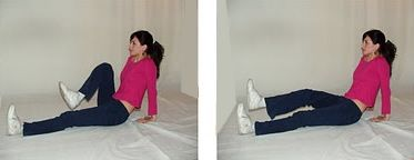 La extensión de piernas sentada para perder peso