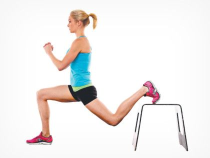 Como hacer lunges declinados